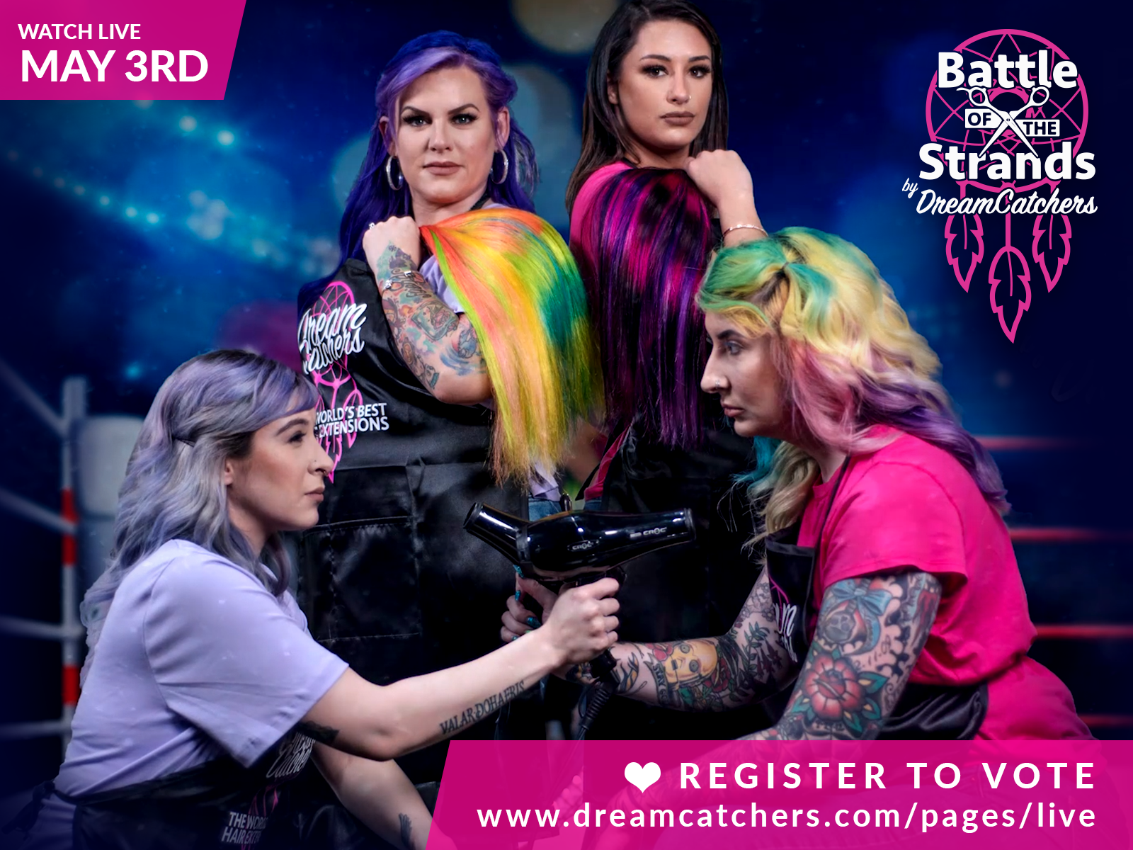 Get Ready for DreamCatchers Battle of the Strands, an Epic Transformation Competition
