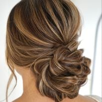 Bridal How-To: Romantic Textured Updo