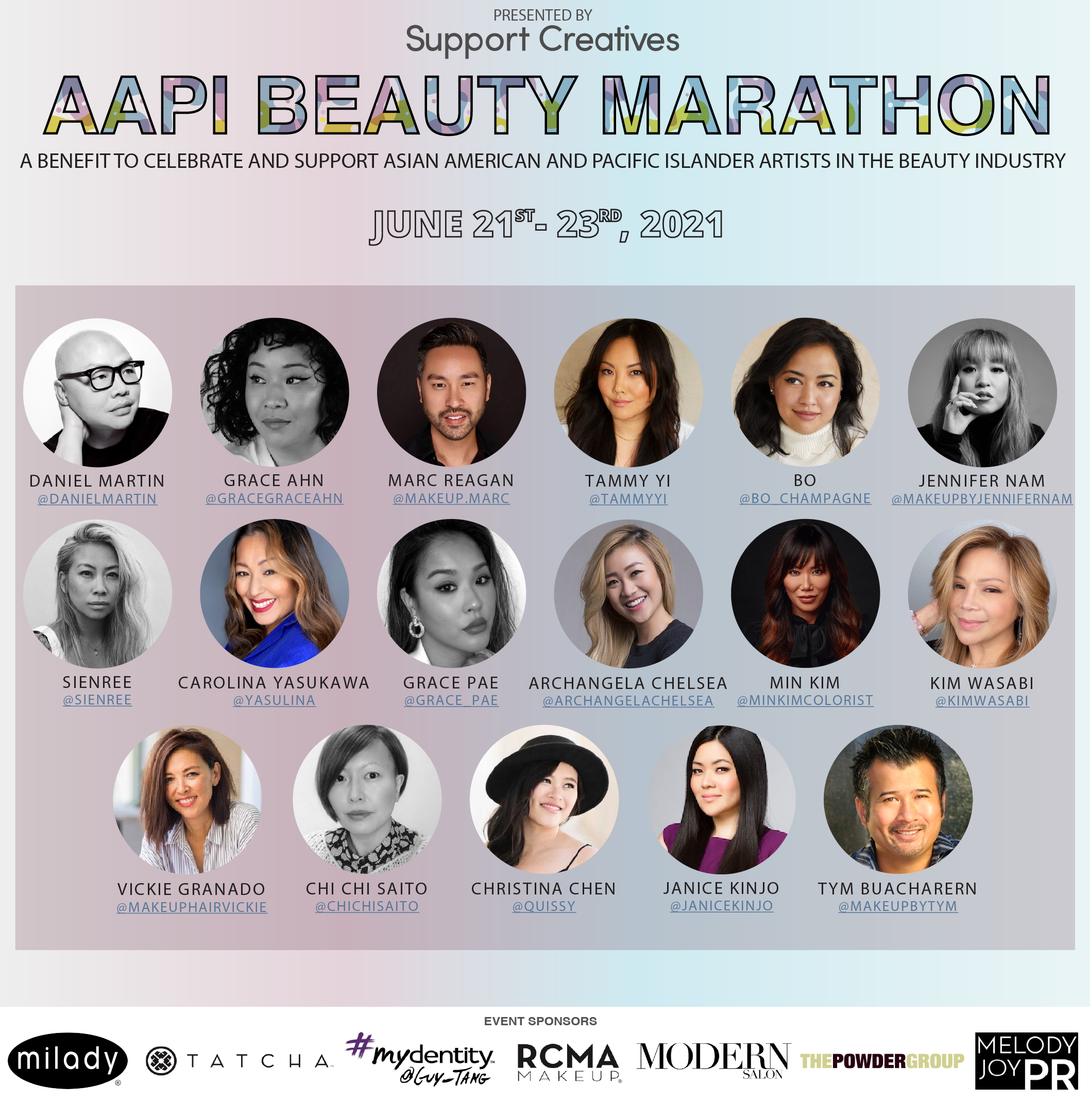 Save the Dates: Beauty Industry Influencers and Artists Educating & Inspiring at AAPI Beauty Marathon, June 21-23