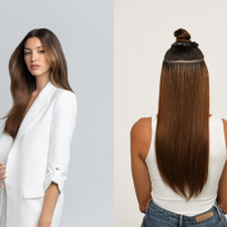 New Keratin strand-by-strand extensions from hairtalk® allow for total customization with 3-5...