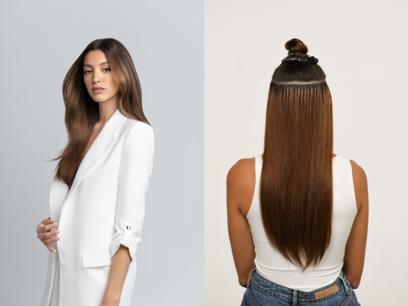Keratin Thermal Fusion From Hairtalk: Soft, Flexible, Matte Bonds for Volume, Color and Length