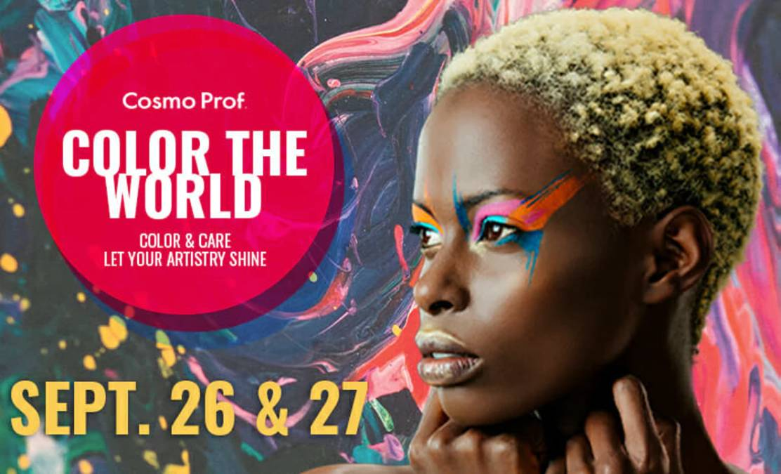 Cosmo Prof Hosting 'Color The World' Virtual Summit