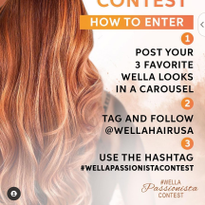You Could Be the Next Wella Professionals Passionista!