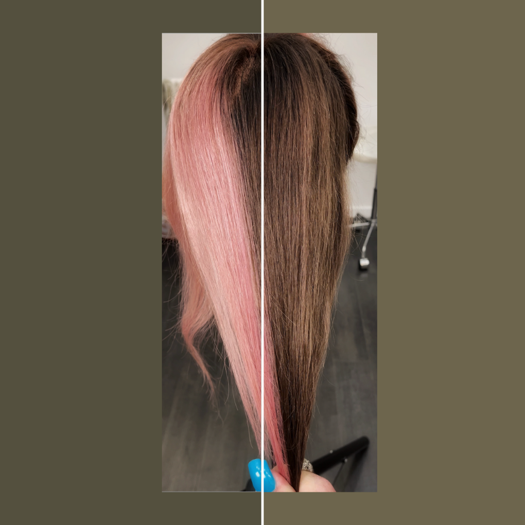 Corrective Color: Warm Raspberry to Cool Brown