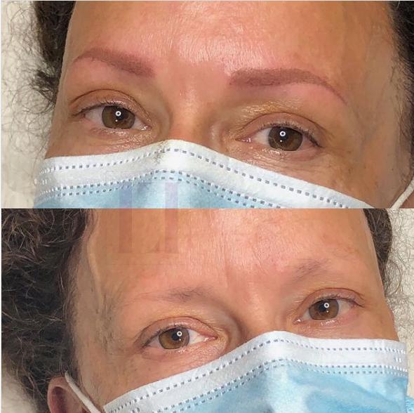 Eyebrow Technique: Powder Brows