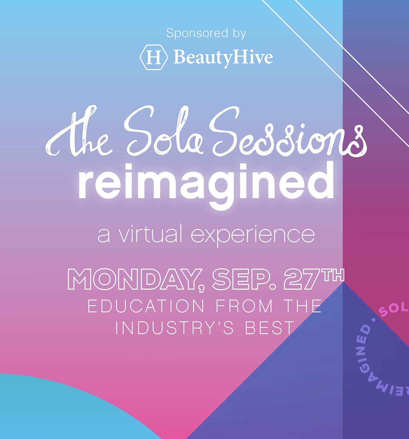 Sola Salons to Host The Sola Sessions Reimagined