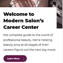 MODERN SALON Career Center