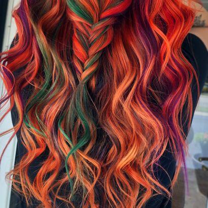 Spooky Good Halloween Hair Color