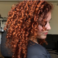 Curls need an equal balance of moisture and protein to remain strong, defined and shiny. @Ouidad