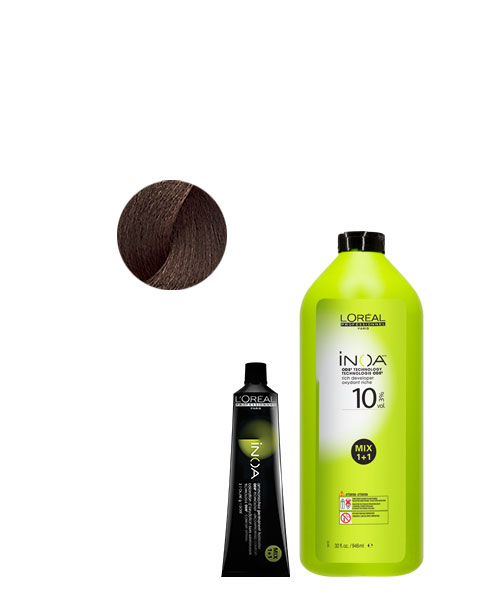 <p><strong>Formula 1: INOA High Resist 5.15/5BRv + 20-volume INOA Rich Developer. Apply this formula to all new growth.</strong></p>