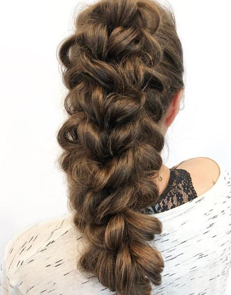 Add Extensions to Give Braids Dimension