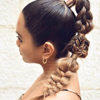 Get the Look: Beautiful Mixed Braid