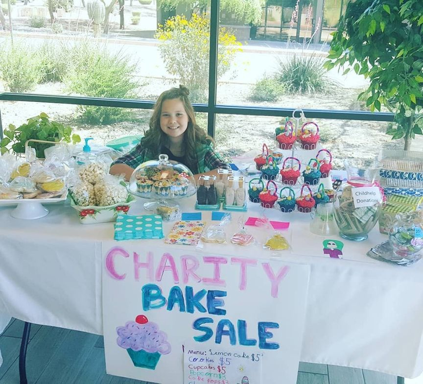 <p>Evolve Salon and Spa had the sweet idea to organize a bake sale to raise money for Childhelp this year.</p>