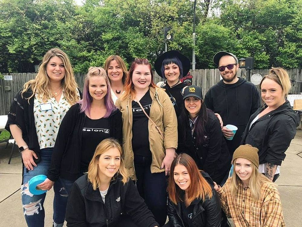 <p>Salon 6 organized a Cornhole Tournament to get their community excited to fundraise for Childhelp.</p>
