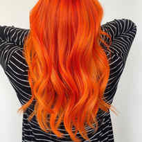 For this firey red, @kinganthonyyyy used