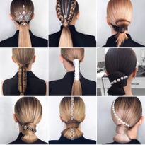 Power Ponies: 11 Perfect Ponytails by Moscow Stylist Viola Pyak