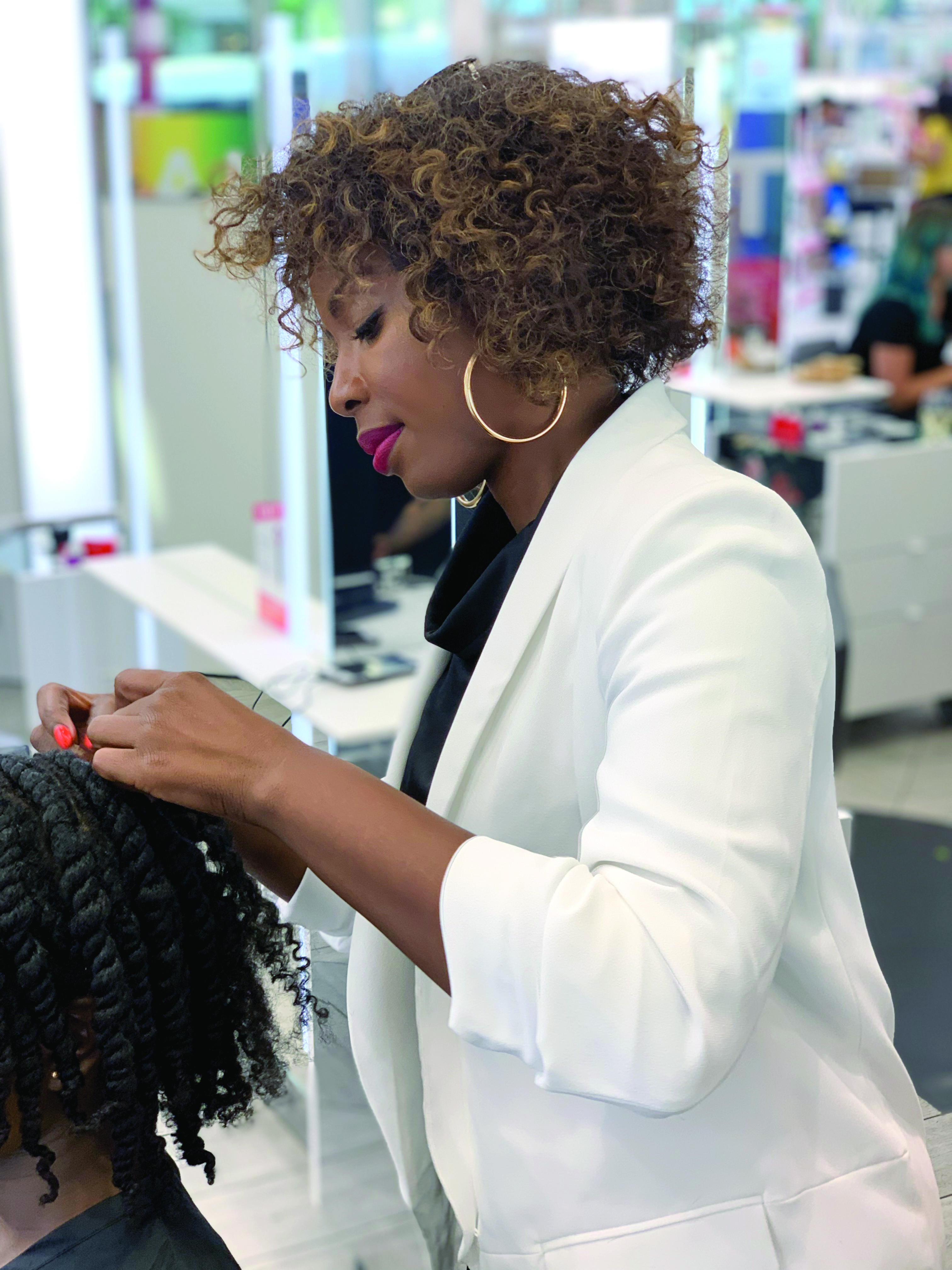 Ulta Beauty Pro Team member Pekela Riley discussed the need for artists to embrace all textures and shared how to get curl confidence. -