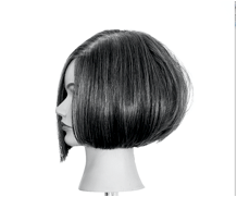 How to Create Internal Graduation on a Blunt Bob