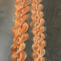 A four strand braid by Haley Garber.