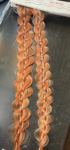 A four strand braid by Haley Garber.  -