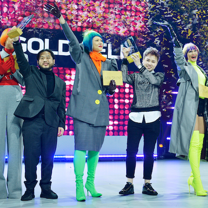 The winners of Goldwell'sColor Zoom Challenge introduced at Global Zoom in Vienna, Austria.