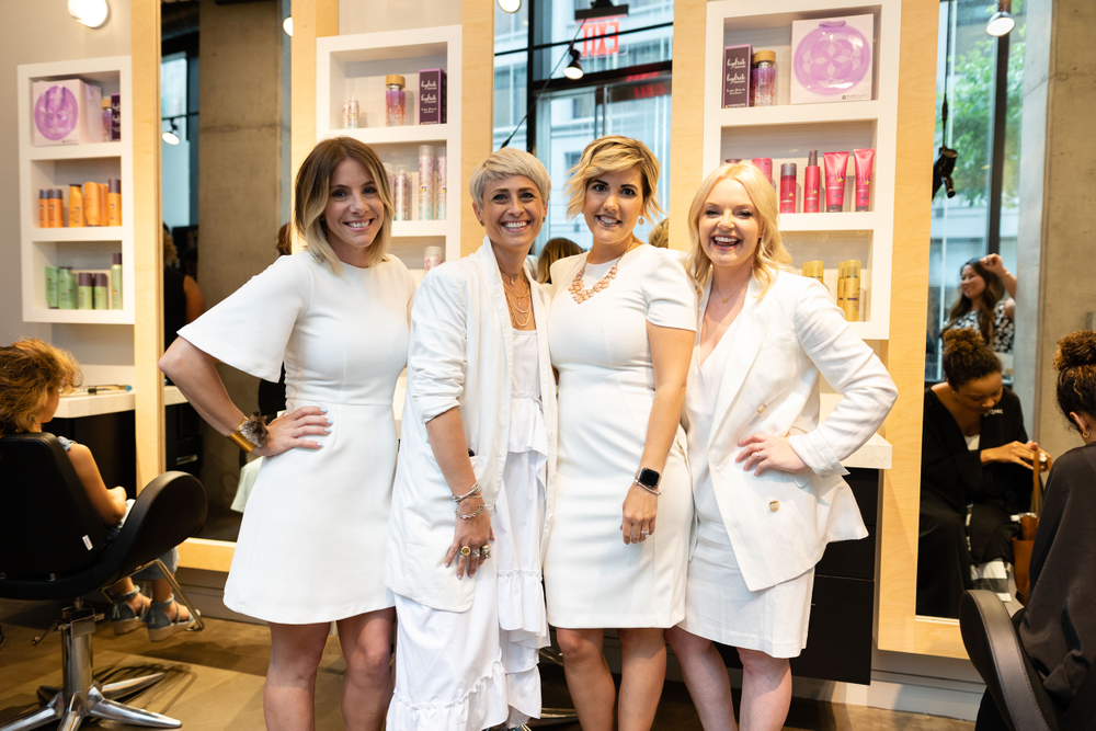<p>Michelle Patton @michelleleep, Jamie Wiley @jamiewileyhair, Emily Alders @emily.alders and Ashley Hofstrand @ashleyhoffy</p>