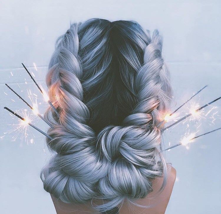 <p>There&rsquo;s no need for fireworks when your hair looks like this!</p>