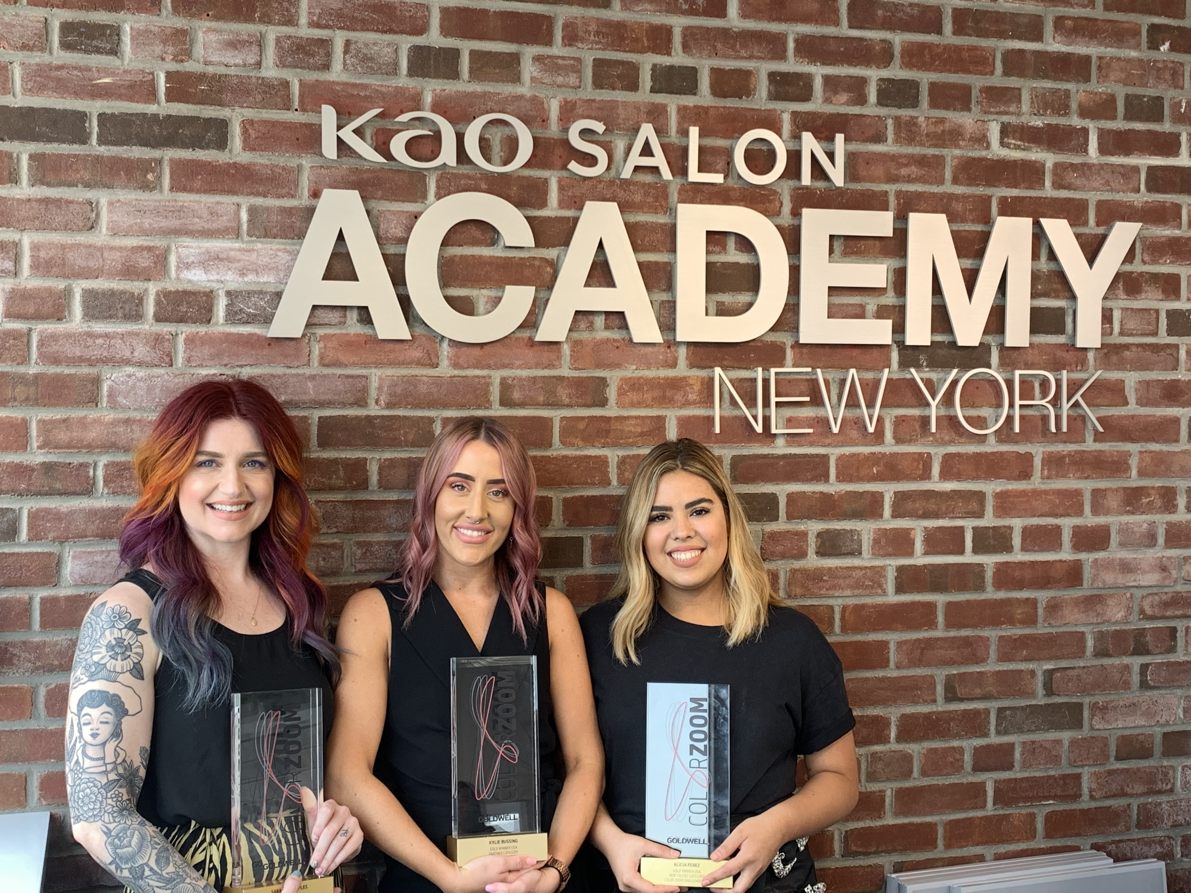 Color Zoom National Gold Finalists In Training