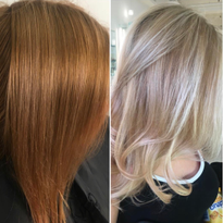 Hair color makeover by Grace Scott (_style_with-grace)