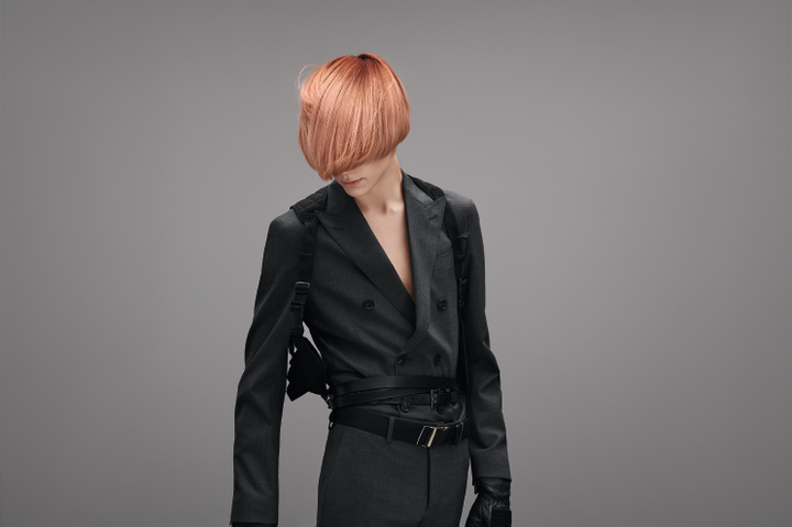 "The ""Gustav"" finish from Goldwell's INTREPID Collection
