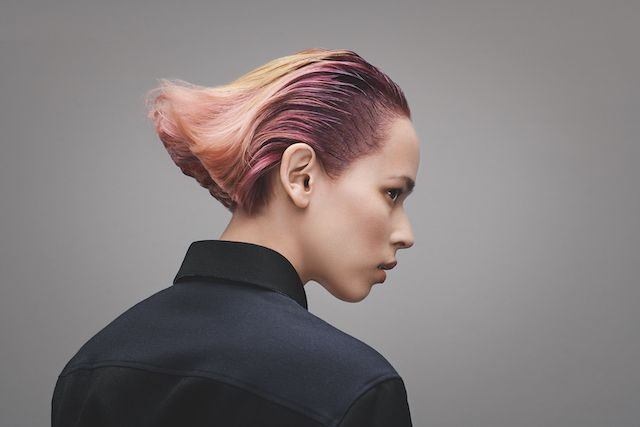 "The ""Hege""  finish from Goldwell's INTREPID Collection.