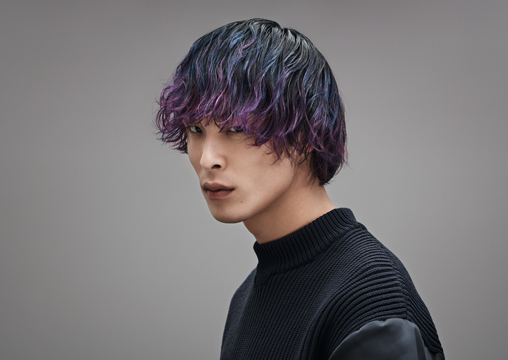 "The ""Jin"" finish from Goldwell's INTREPID Collection.