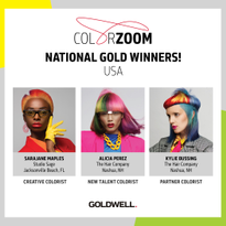 Goldwell Reveals 2019 Color Zoom Challenge U.S. Finalists
