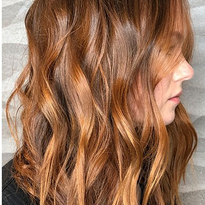 Customized Copper Balayage