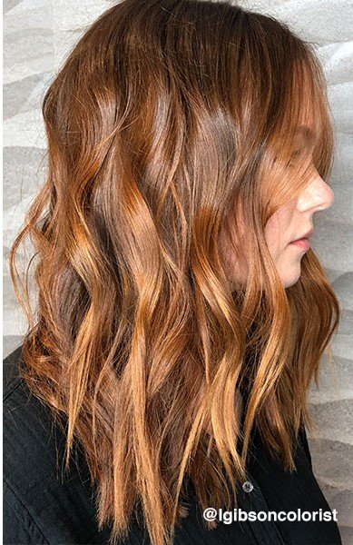 How Tos Customized Copper Balayage And 2 Shade Ambr 233