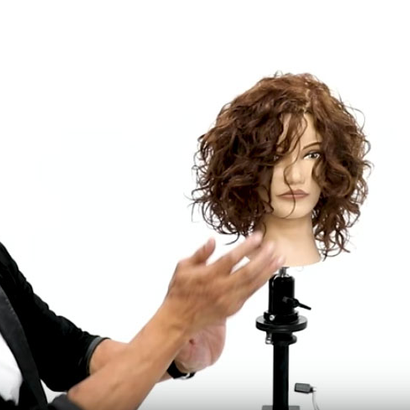 How to Dry Curly Hair with a Diffuser