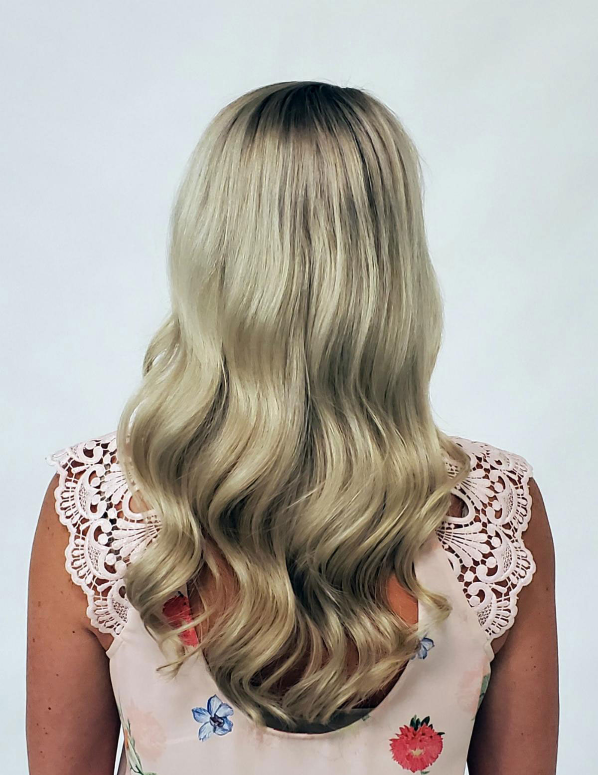 Icy Blonde: Correcting and Maintaining Brassy Highlights