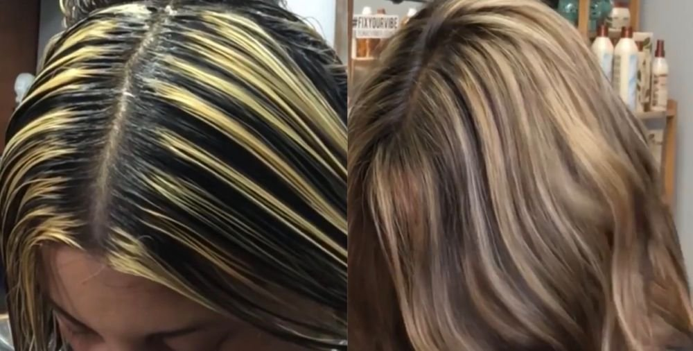 <p>A before and after created by Nicki Bianco showcasing her Slice &amp; Smudge technique.</p>