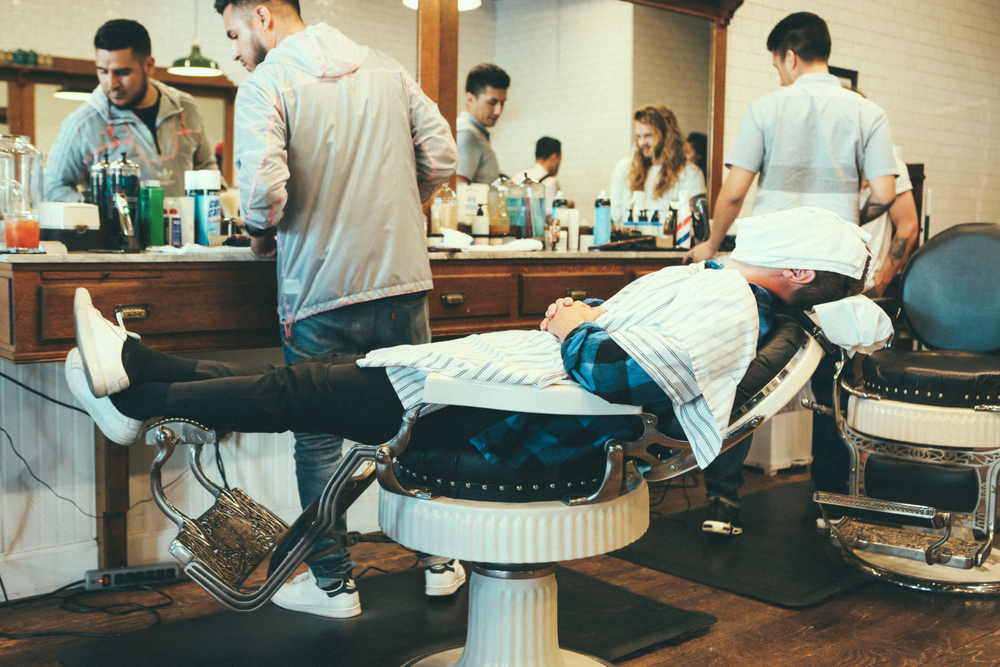 <p><strong>Waxing, shaving, facials and beard grooming can all expand men&rsquo;s services beyond the standard haircut. (Photo courtesy of Baxter of California)</strong></p>