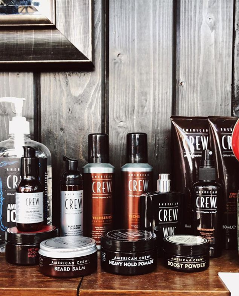 <p><strong>Make sure your product displays send the message that you&rsquo;re in the men&rsquo;s haircare business.</strong></p>