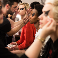 NYFW SS20: Kelsey Deenihan Creates Bold, Punk-Inspired Beauty Look using LORAC
