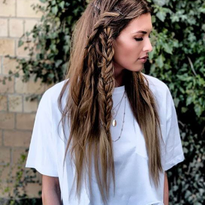 Styling How-To: Boho Braids with Texture