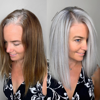 Gray Day: Jack Martin Strikes Again with a Technique to Help Clients Go Gray with Grace