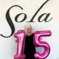 Sola Salon Studios Celebrates 15 Years