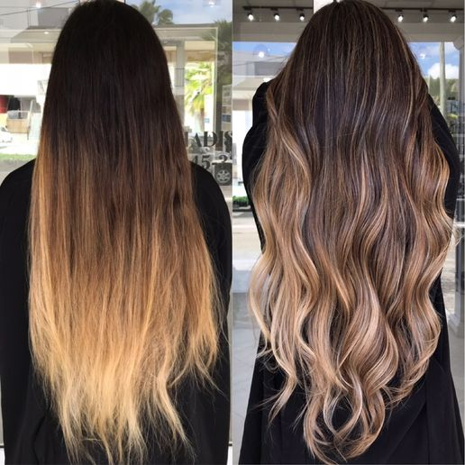 Hair color makeover by Sue Tyrrell.  -