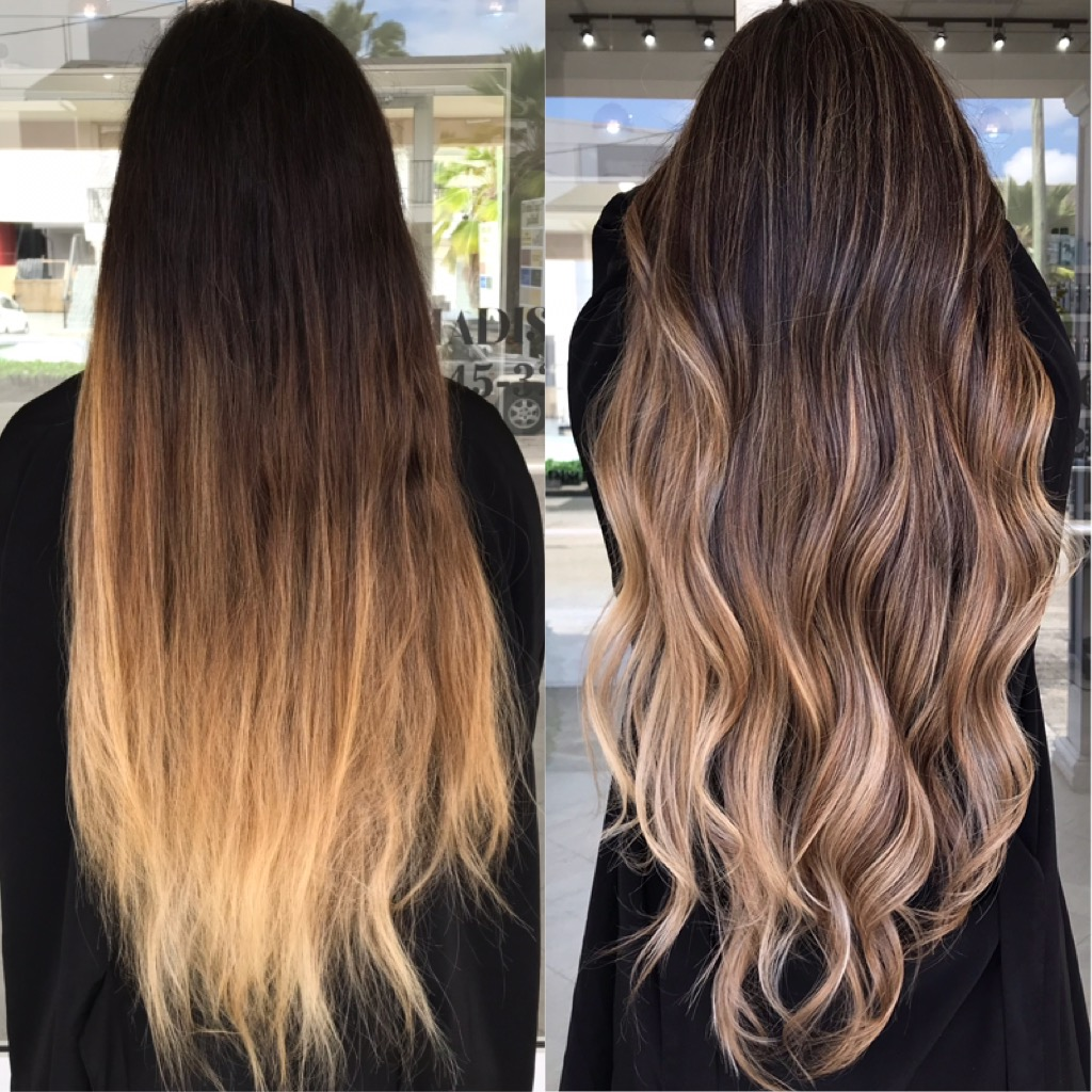 Lower Maintenance Color For That Client With LONG Hair