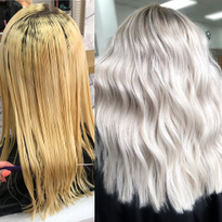 Hair Color makeover by Tia Lambourn