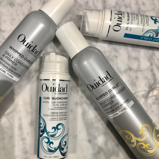Chadwick Pendley recommends these products should be layered on wet hair before drying. 