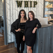 Entrepreneur Marcelle Tiffany (left) partnered with Whip Salon's Amy Pal in a unique franchise...