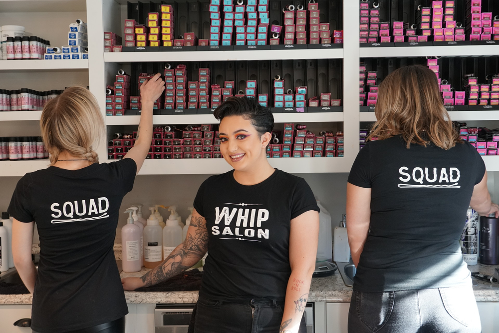 <p><strong>Being a Whip Salon franchisee brings benefits like product training and centralized purchasing privileges.</strong></p>